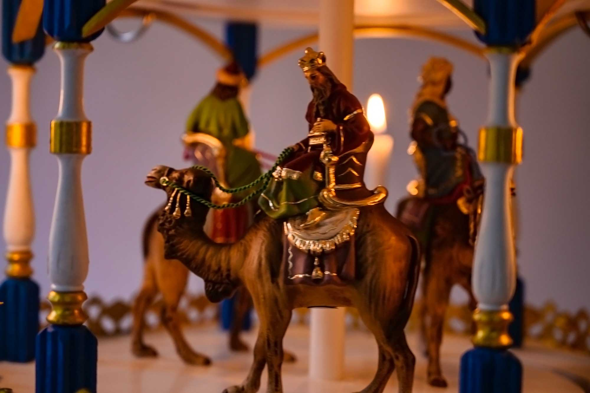 Heilige Drei Könige- Gold Version