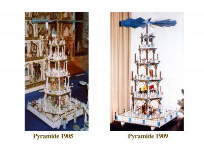 Flemming Pyramiden von 1905 und 1909