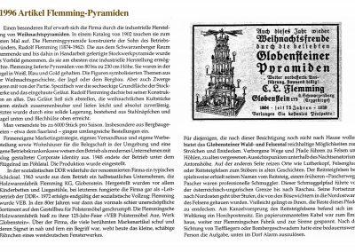 Zeitungsartikel 1996