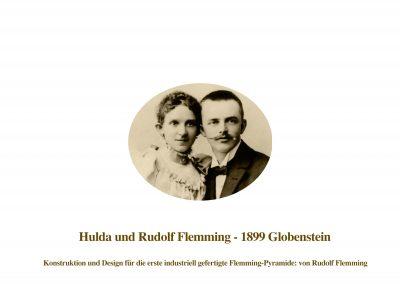 Rudolf Flemming mit Gattin Hulda